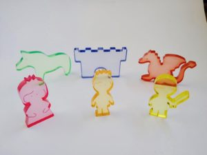Translucent Fantasy Set 6pcs