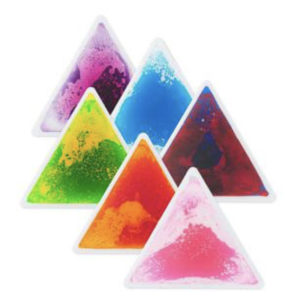 Colour Triangle Liquid Tiles