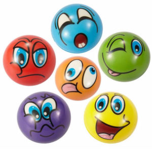 Emotion Stress Balls Set of 12