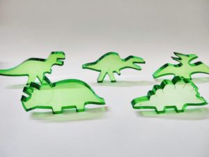Translucent Colour Dinosaurs